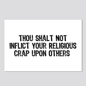 No Religious Crap Postcards (Package of 8)