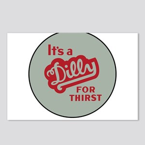 Dilly Soda 2 Postcards (Package of 8)