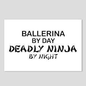 Ballerinia Deadly Ninja Postcards (Package of 8)