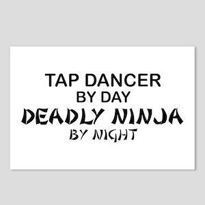 Tap Dancer Deadly Ninja Postcards (Package of 8)