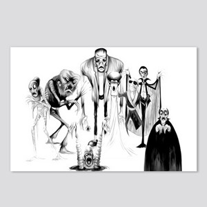 Classic movie monsters Postcards (Package of 8)