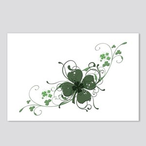 Elegant Shamrock Postcards (Package of 8)