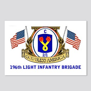 C 2/1 196th INFANTRY Postcards (Package of 8)