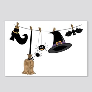Witch Clothing Postcards (Package of 8)