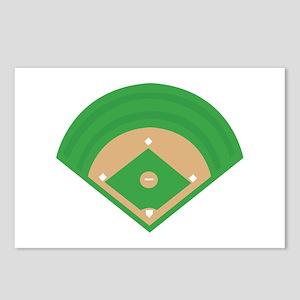 BaseballField_Base Postcards (Package of 8)