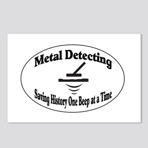 Metal Detecting Postcards (Package of 8)