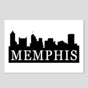 Memphis Skyline Postcards (Package of 8)