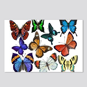 Butterflies Postcards (Package of 8)
