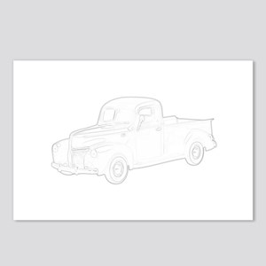 Ford Pickup 1940 Postcards (Package of 8)
