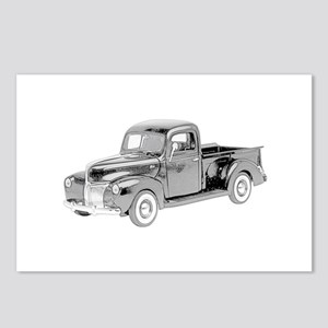 Ford Pickup 1940 -colored Postcards (Package of 8)
