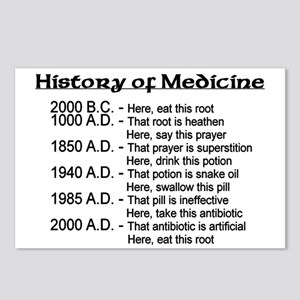 History of Medicine Postcards (Package of 8)