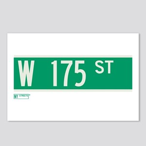 175th Street in NY Postcards (Package of 8)