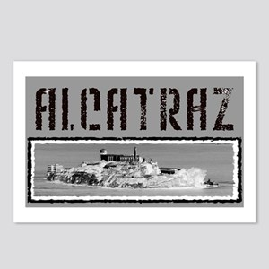 Alcatraz T-shirts Postcards (Package of 8)