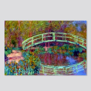 12mo Monet 13 Postcards (Package of 8)