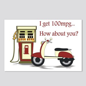 100 mpg Postcards (Package of 8)