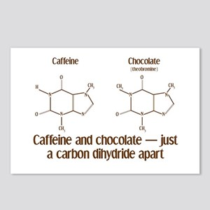 Caffeine & Chocolate Postcards (Package of 8)
