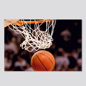 Basketball Scoring Postcards (Package of 8)