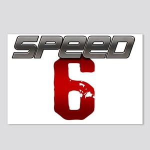 Speed 6 copy Postcards (Package of 8)