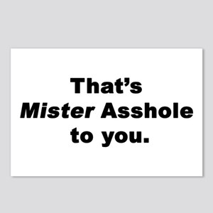 Mister Asshole Postcards (Package of 8)