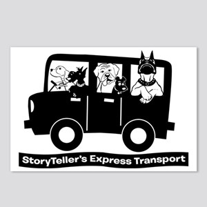 StoryTellers Express Tran Postcards (Package of 8)