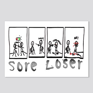 Sore Loser Postcards (Package of 8)