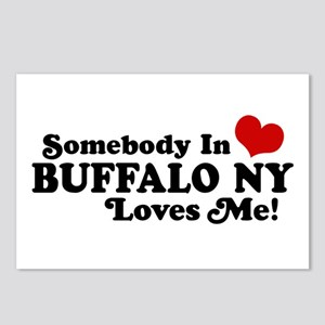Somebody In Buffalo NY Loves Me Postcards (Package