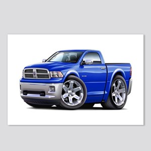Ram Blue Truck Postcards (Package of 8)