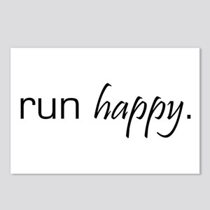 Run Happy Postcards (Package of 8)