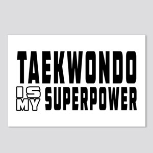 Taekwondo Is My Superpower Postcards (Package of 8