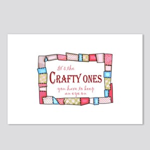 QUILTING HUMOR Postcards (Package of 8)