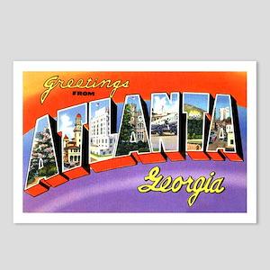 Atlanta Georgia Greetings Postcards (Package of 8)