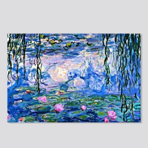 Monet - Water Lilies, 191 Postcards (Package of 8)