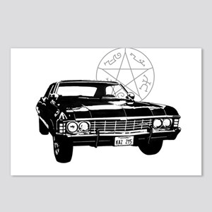 Impala with devils trap Postcards (Package of 8)