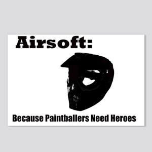 airsoft heroes Postcards (Package of 8)