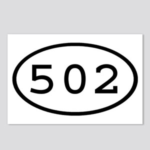502 Oval Postcards (Package of 8)