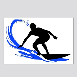 shirt-waves-surfer2 Postcards (Package of 8)