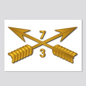 3rd Bn 7th SFG Branch wo Postcards (Package of 8)