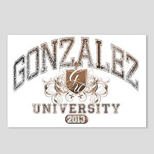 Gonzalez last name Univer Postcards (Package of 8)