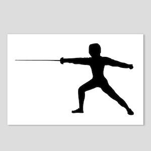 Guy Fencer Postcards (Package of 8)