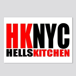 """""""hells kitchen shirt"""" Postcards (Package of 8)"""
