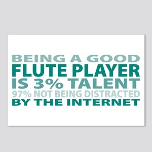 Good Flute Player Postcards (Package of 8)