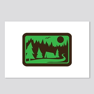 CAMPING Postcards (Package of 8)
