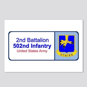 2nd Battalion 502nd Infantry Postcards (Package of