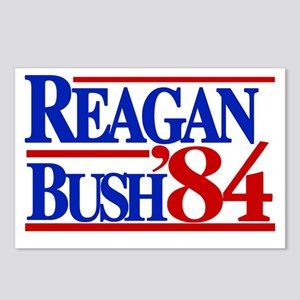 Reagan Bush 1984 Postcards (Package of 8)