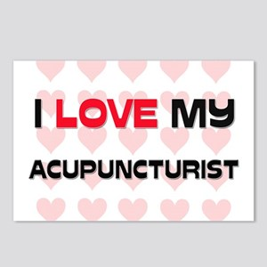 I Love My Acupuncturist Postcards (Package of 8)