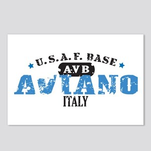 Aviano Air Force Base Postcards (Package of 8)
