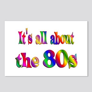 All About 80s Postcards (Package of 8)