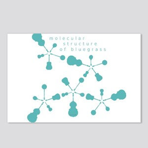 Molecular Structure of Bluegr Postcards (Package o