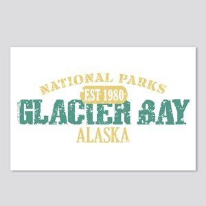 Glacier Bay National Park AK Postcards (Package of
