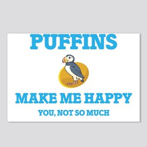 Puffins Make Me Happy Postcards (Package of 8)